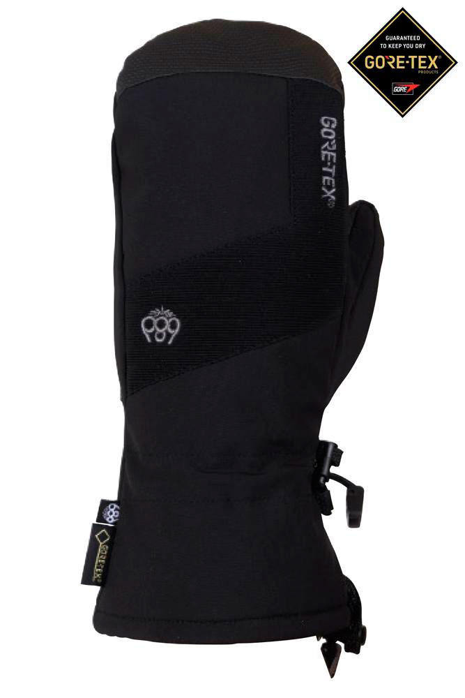 Варежки 686 GORE-TEX® Linear Mitt (18-19) | Black