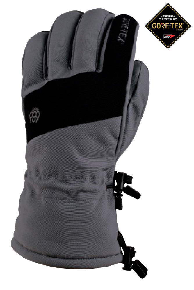Перчатки 686 GORE-TEX® Linear Glove (18-19) | Charcoal